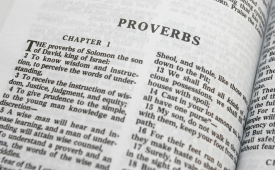 Proverbs 1:7 Fear of the Lord